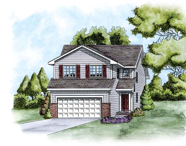 Traditional House Plan 66671 Elevation