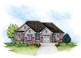 Traditional House Plan 66675 Elevation