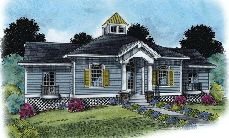 Coastal House Plan 66680 Elevation