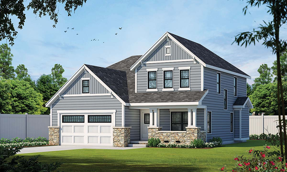 Traditional House Plan 66689 Elevation