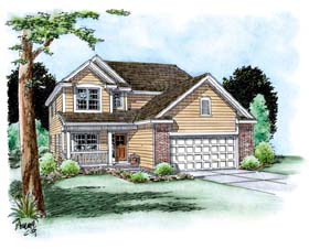 Traditional House Plan 66692 Elevation