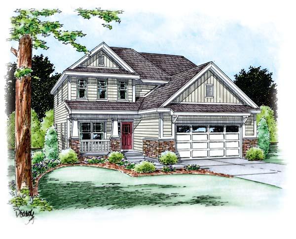 Craftsman House Plan 66693 Elevation