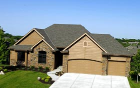 Traditional House Plan 66697 Elevation