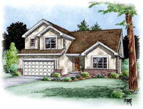 Traditional House Plan 66698 Elevation