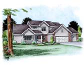 Plan Number 66700 - 2772 Square Feet