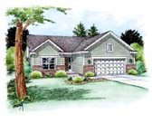 Plan Number 66703 - 1482 Square Feet
