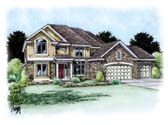Plan Number 66706 - 2917 Square Feet