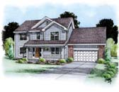 Plan Number 66708 - 2609 Square Feet