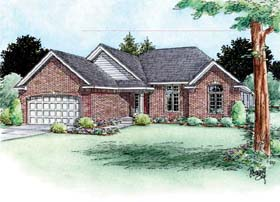Traditional House Plan 66710 Elevation