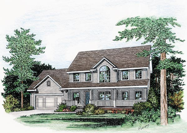 Farmhouse House Plan 66720 Elevation
