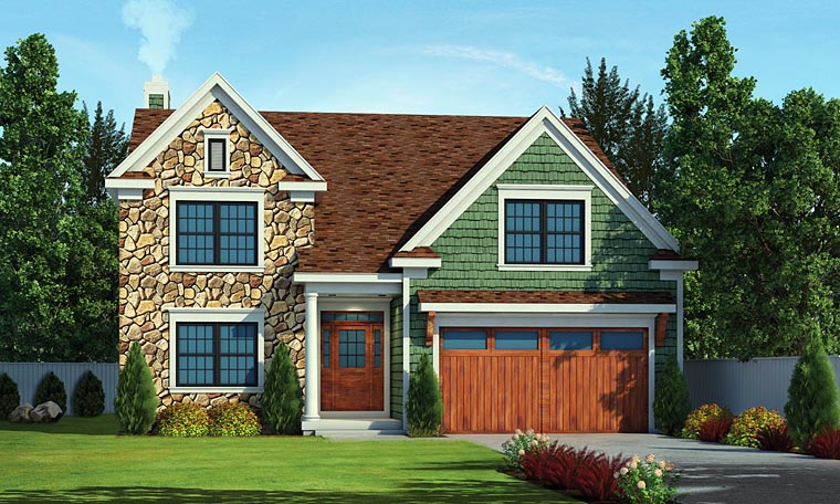 Craftsman Traditional House Plan 66728 Elevation