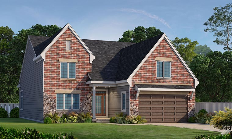 Traditional House Plan 66729 Elevation