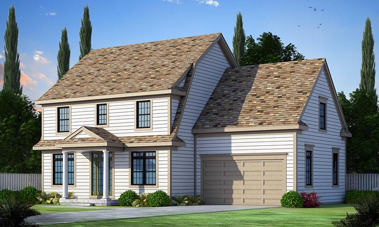 Colonial Southern House Plan 66731 Elevation