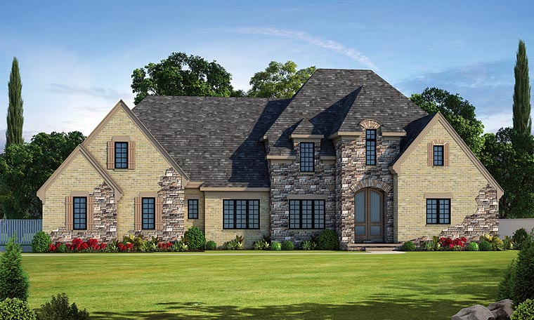 European French Country House Plan 66740 Elevation