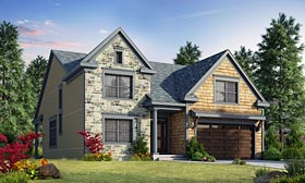 Craftsman Traditional House Plan 66748 Elevation