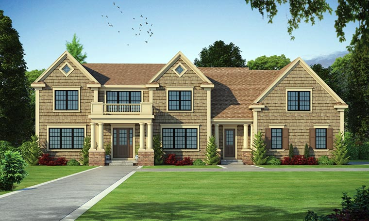 Colonial Traditional House Plan 66753 Elevation