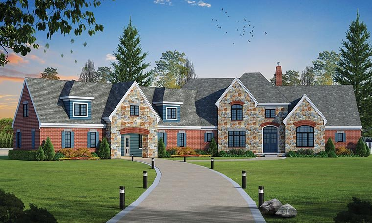 French Country Traditional House Plan 66754 Elevation
