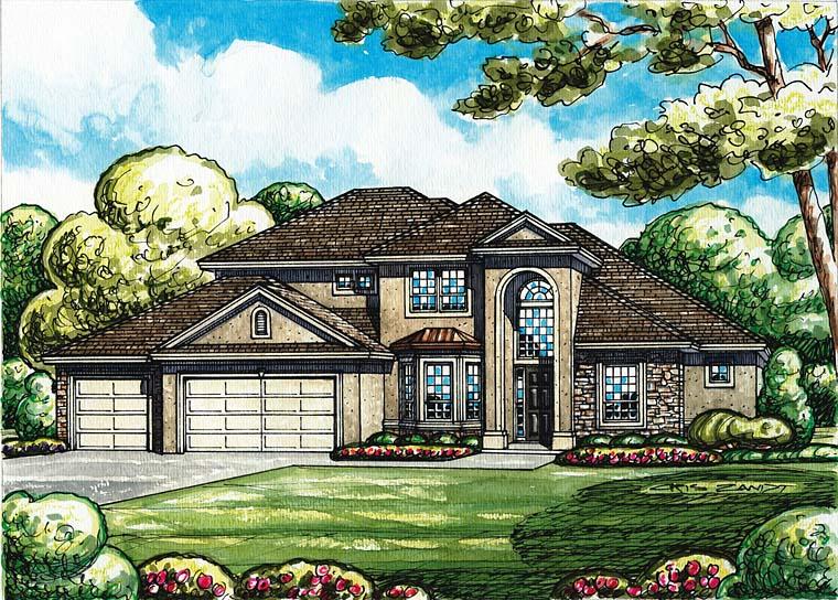 Mediterranean House Plan 66771 Elevation