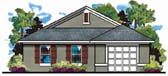 Plan Number 66801 - 1146 Square Feet
