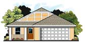 Plan Number 66803 - 1235 Square Feet