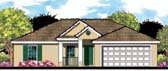 Plan Number 66804 - 1280 Square Feet