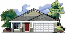 Florida House Plan 66807 Elevation