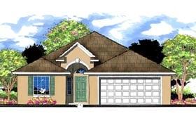 Florida Traditional House Plan 66812 Elevation