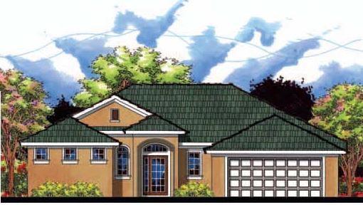 Contemporary Florida House Plan 66816 Elevation