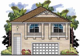 Coastal Florida House Plan 66829 Elevation