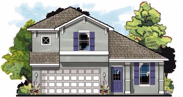 Cottage Craftsman Florida House Plan 66830 Elevation