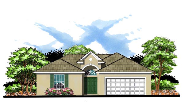 Contemporary Florida House Plan 66839 Elevation