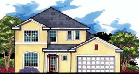 Florida Traditional House Plan 66846 Elevation