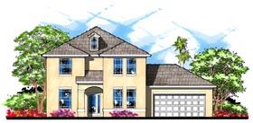 Craftsman Florida Traditional House Plan 66847 Elevation