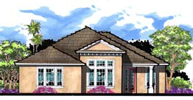 Florida House Plan 66857 Elevation