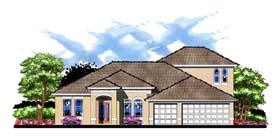 Florida Traditional House Plan 66881 Elevation