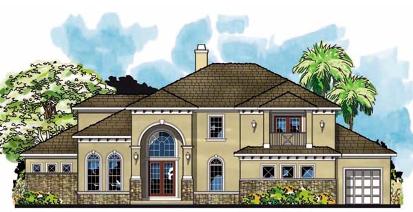 Mediterranean House Plan 66908 Elevation