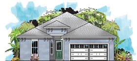 Traditional House Plan 66916 Elevation