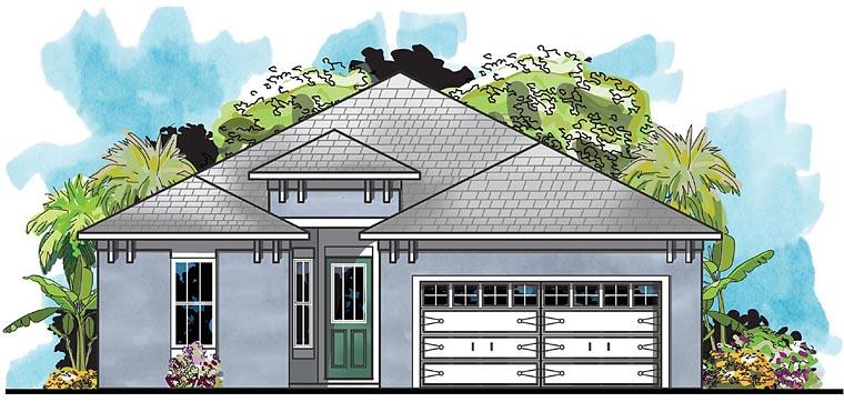 Florida House Plan 66921 Elevation
