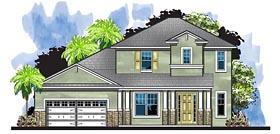 Colonial European Florida House Plan 66938 Elevation