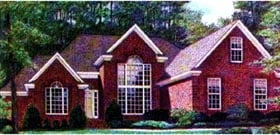 Traditional House Plan 67008 Elevation