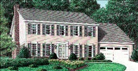 Colonial Southern House Plan 67009 Elevation