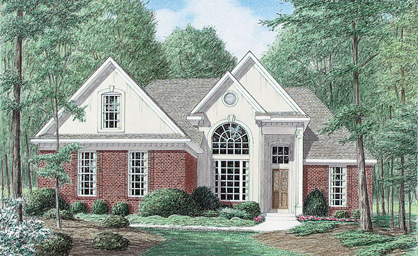 Traditional House Plan 67011 Elevation