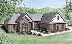 Traditional House Plan 67012 Elevation
