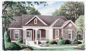 Traditional House Plan 67027 Elevation