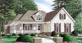 Country House Plan 67032 Elevation