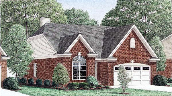 Traditional House Plan 67055 Elevation