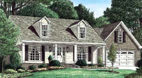 Cape Cod House Plan 67056 Elevation