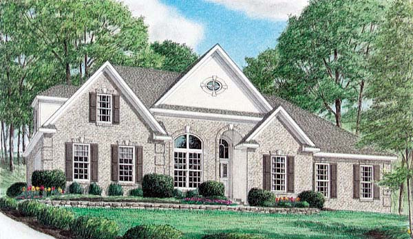 Traditional House Plan 67058 Elevation