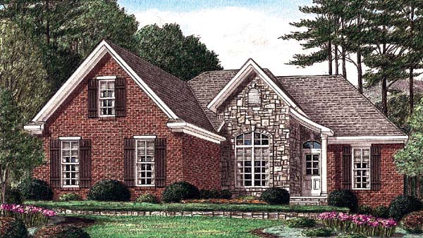 Traditional House Plan 67061 Elevation