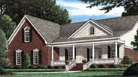 Traditional House Plan 67062 Elevation